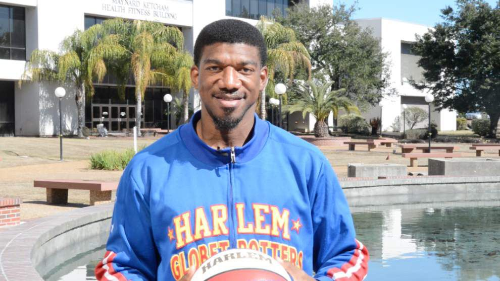 Anthony 'Buckets' Blakes on being a Harlem Globetrotter _lowres