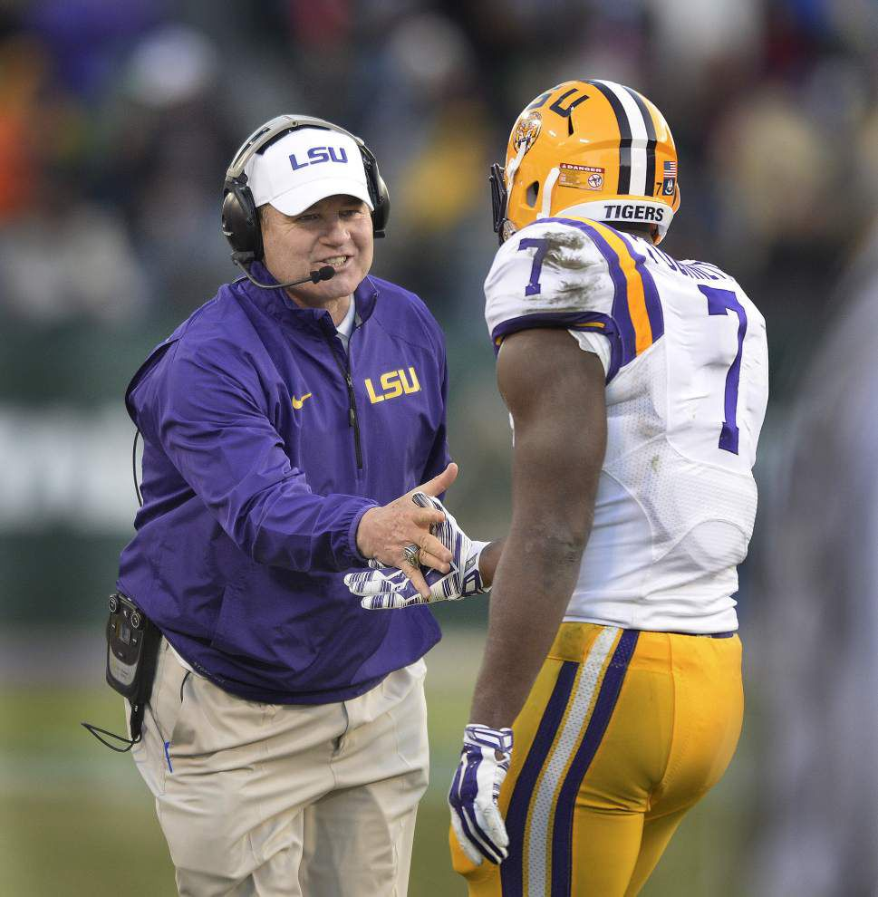 LSU running back Leonard Fournette puts on show in Music City Bowl loss to Notre Dame _lowres