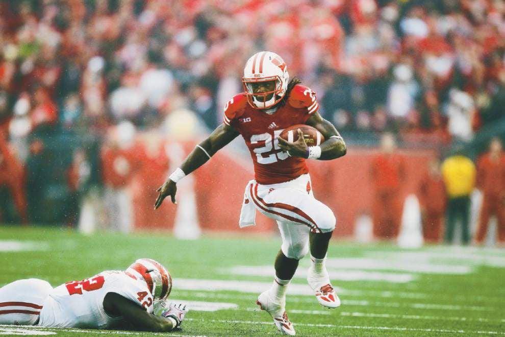 Wisconsin running back Melvin Gordon's return powers excitement _lowres