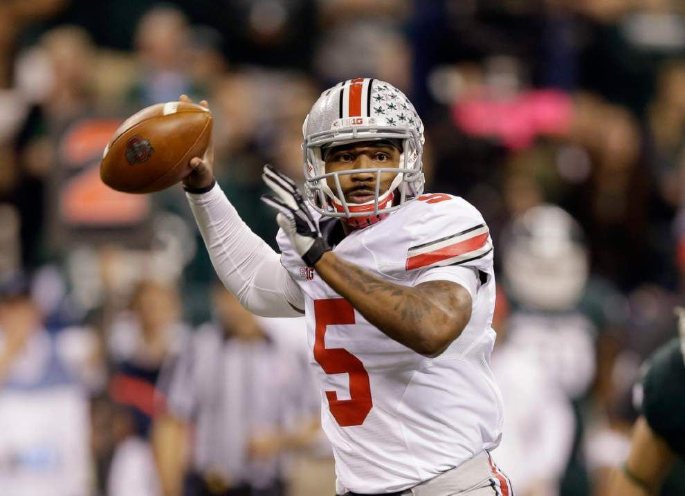 Report: Ohio State's Braxton Miller reinjures throwing shoulder _lowres