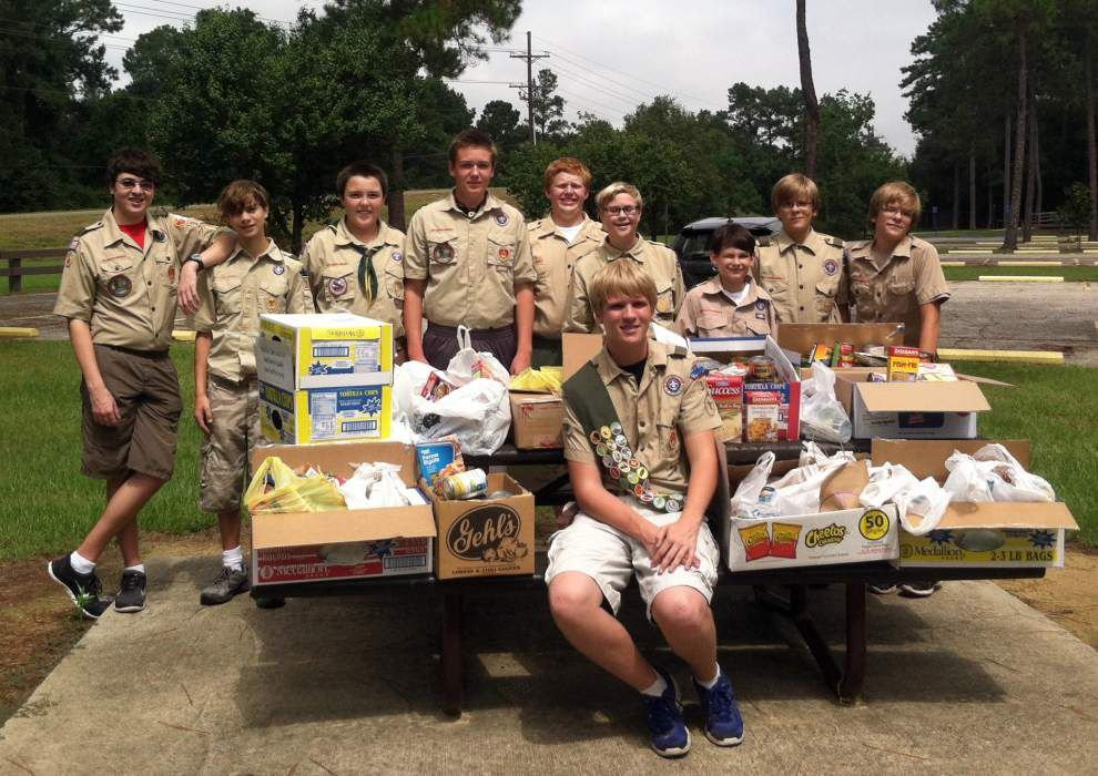 Eagle Scout from BSA Troop 348 helps CCC _lowres