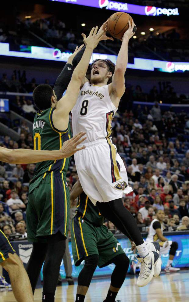 Luke Babbitt gives Pelicans bench a much-needed boost _lowres