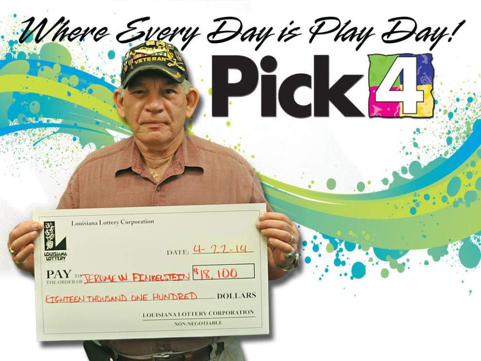 Veteran wins lottery prize with special numbers _lowres