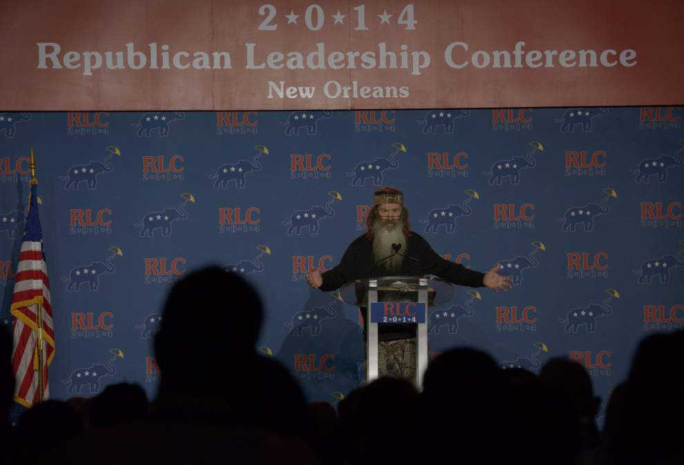 Photos: Phil Robertson, Sarah Palin, Bobby Jindal at GOP Leadership Conference _lowres