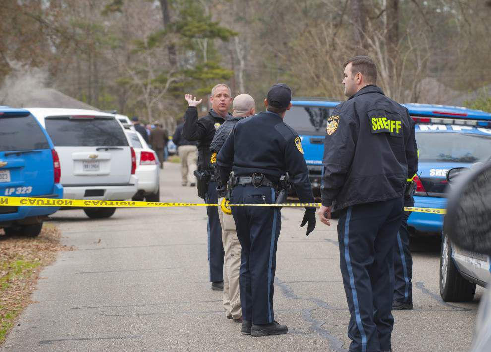 Self-inflicted gunshot wound killed man involved in Tuesday shootout with Livingston Parish deputy, LSP says _lowres