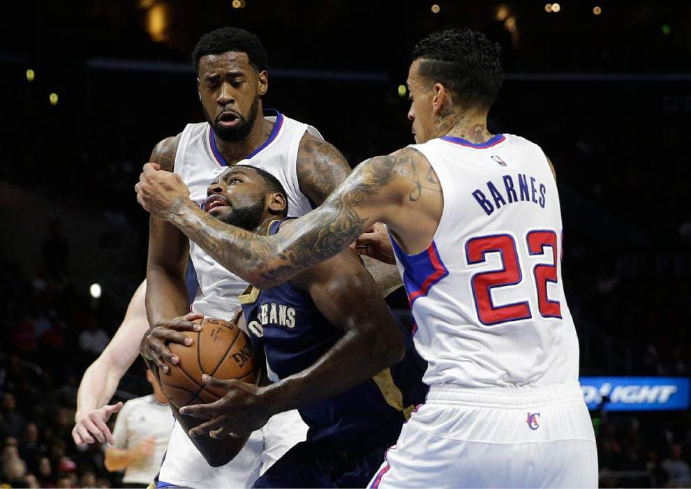 Los Angeles Clippers demolish New Orleans Pelicans 120-100 _lowres
