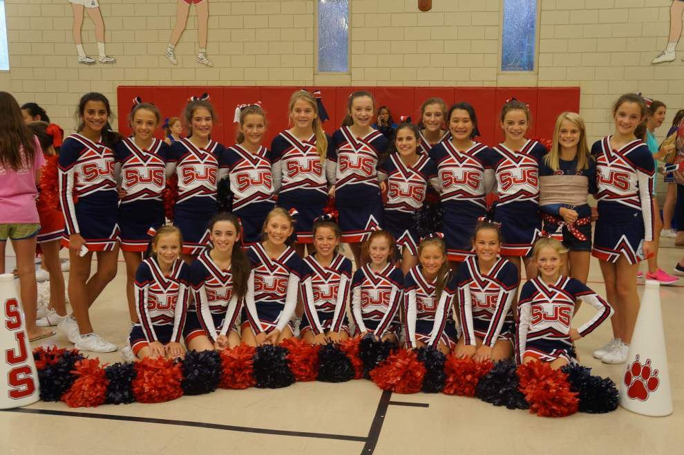 St. Jude cheerleaders honored _lowres