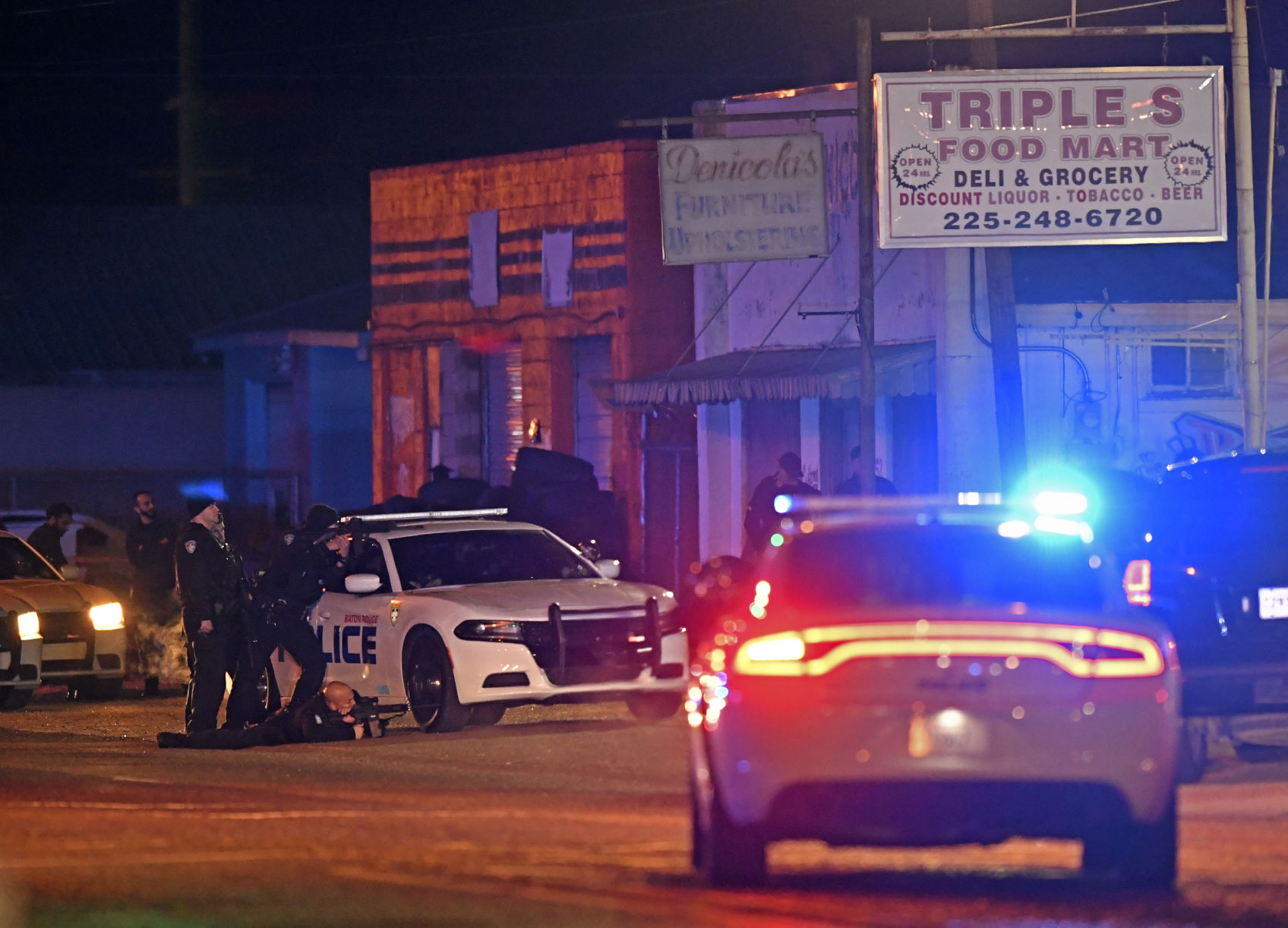 'Hostage situation' at Triple S store turns out to be man fearful he was being chased