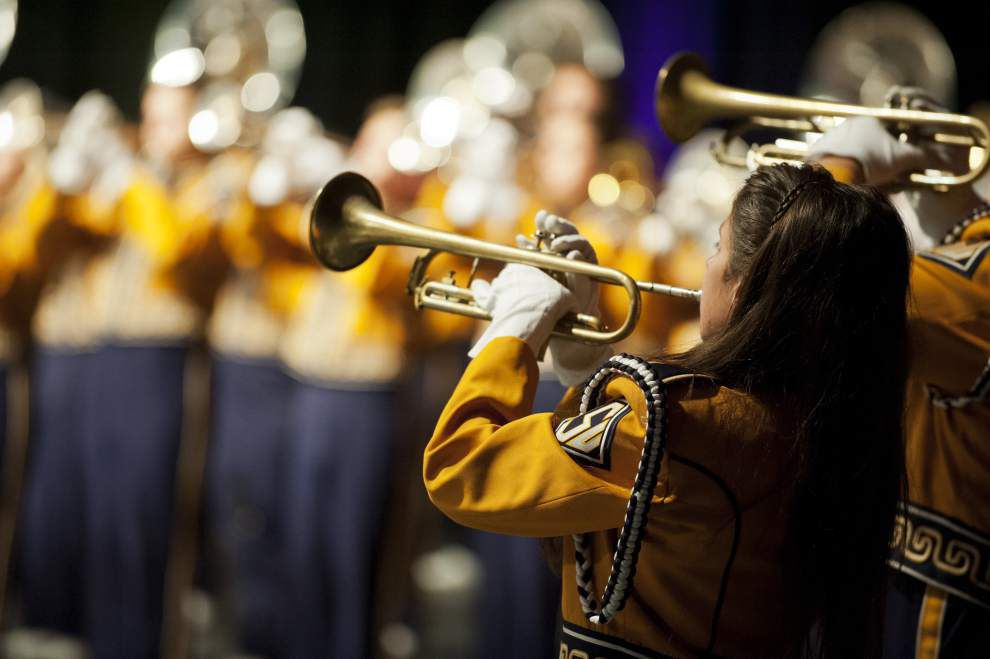 LSU bands combine for annual Tigerama performance _lowres