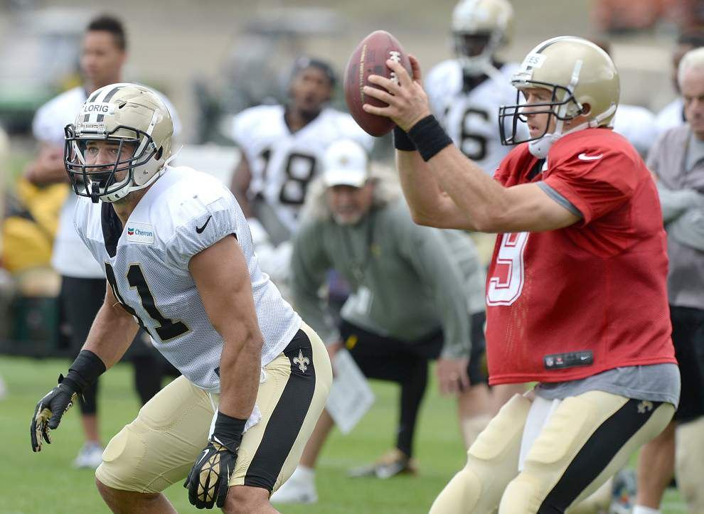 Photos: Practice action at N.O. Saints training camp _lowres