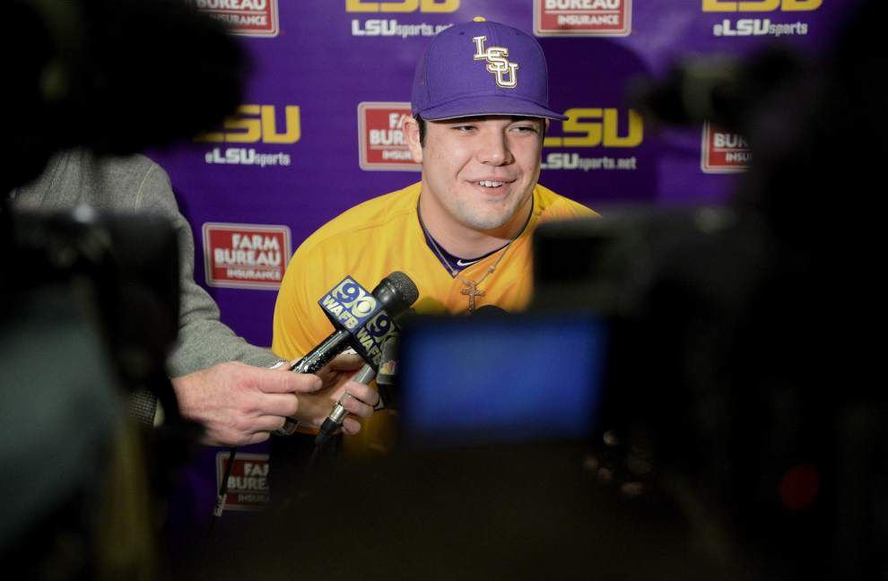 LSU baseball team will have two freshmen — Alex Lange and Jake Godfrey — in its weekend starting pitching rotation _lowres