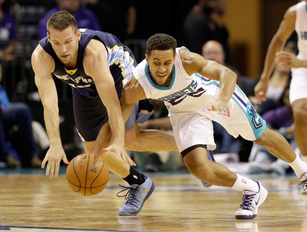 "Former New Orleans Pelicans guard Brian Roberts has experience playing for the ""Hornets"" _lowres"