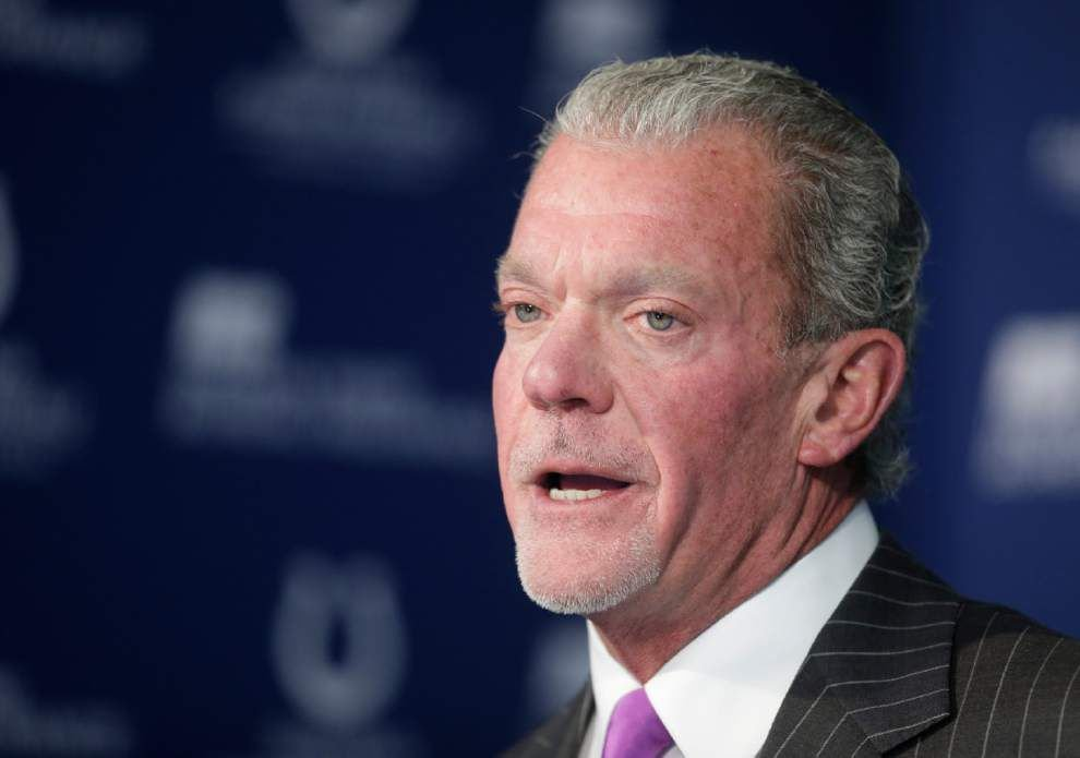 Colts owner Jim Irsay is eager to face Peyton Manning's Broncos _lowres