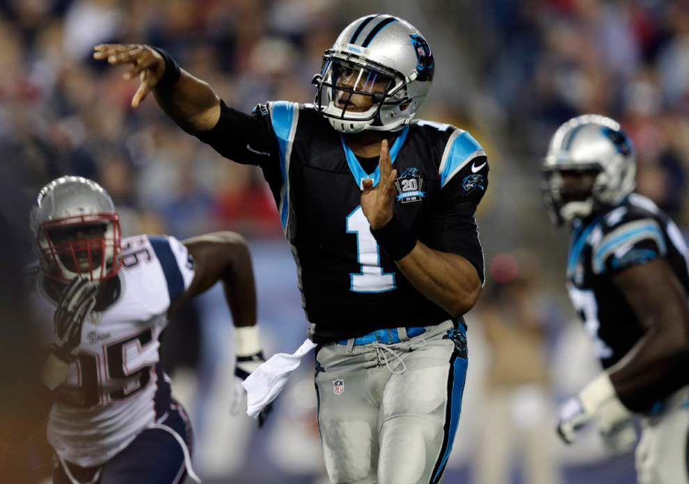 Panthers quarterback Cam Newton to be a game-time decision vs. Tampa Bay _lowres