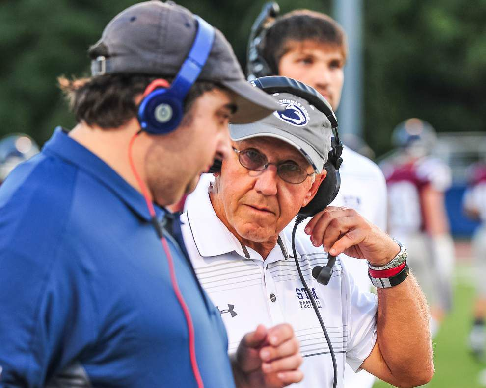 St. Thomas coach Jim Hightower saw potential of offense early _lowres