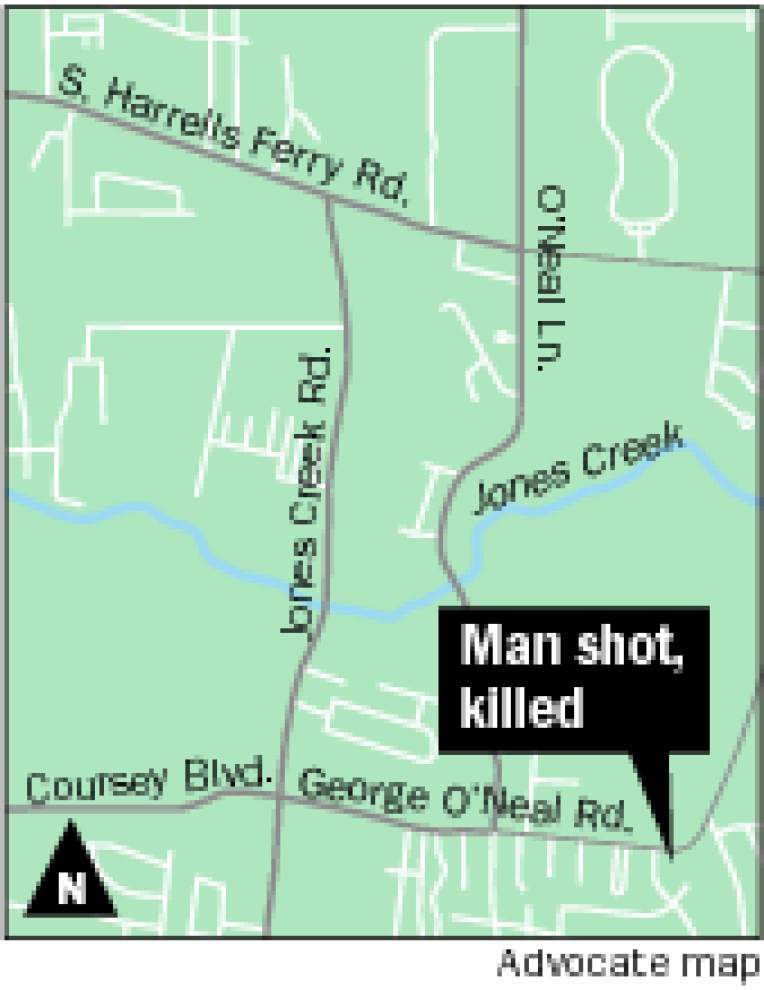 Man dies in shooting on George O'Neal Road _lowres