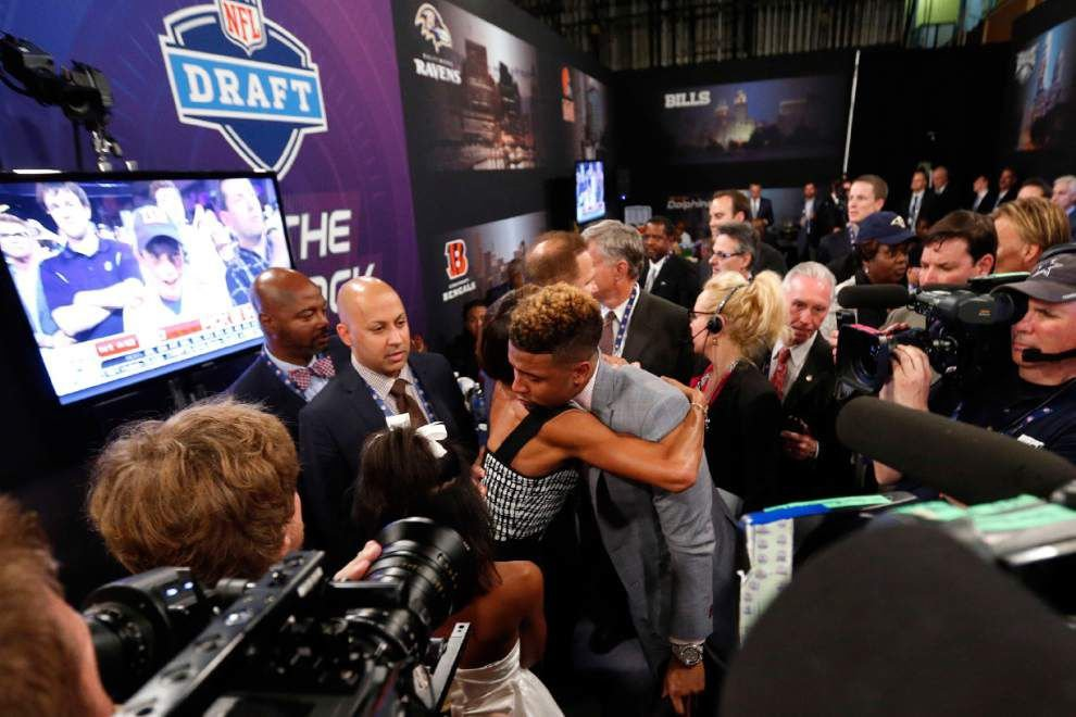 NFL draft notes: Newman-to-Newman won't be all new for Odell Beckham Jr. _lowres