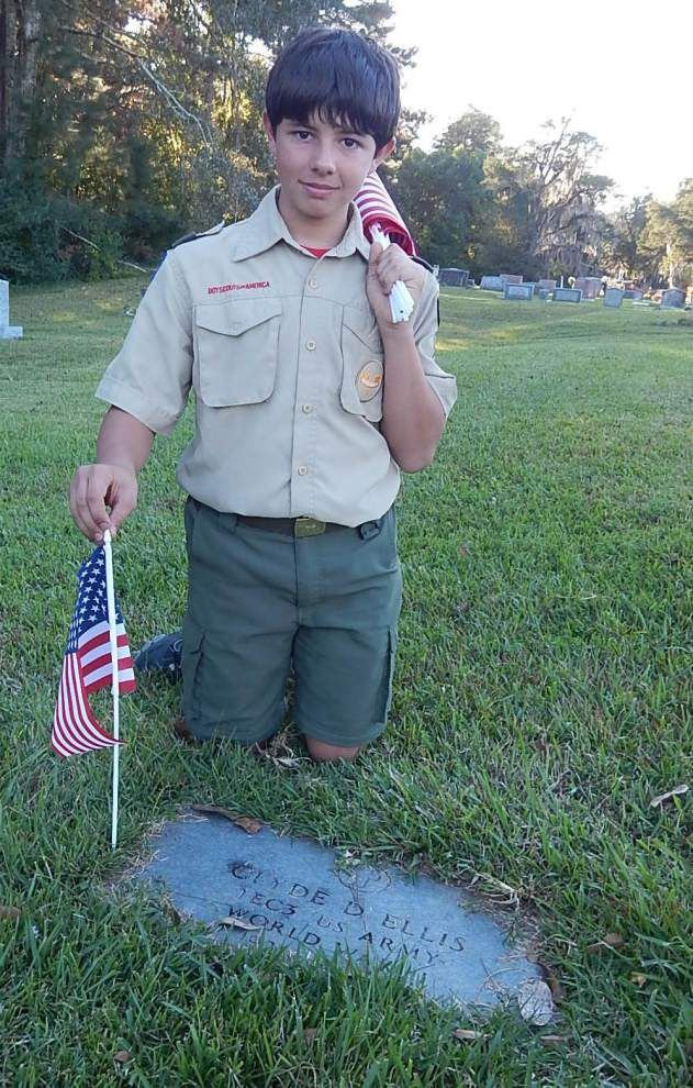 Area veterans honored at Jackson cemeteries _lowres