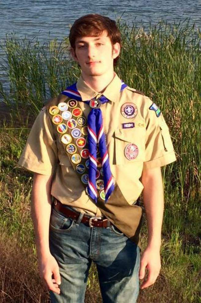 Former BR Boy Scout earns Eagle Award _lowres