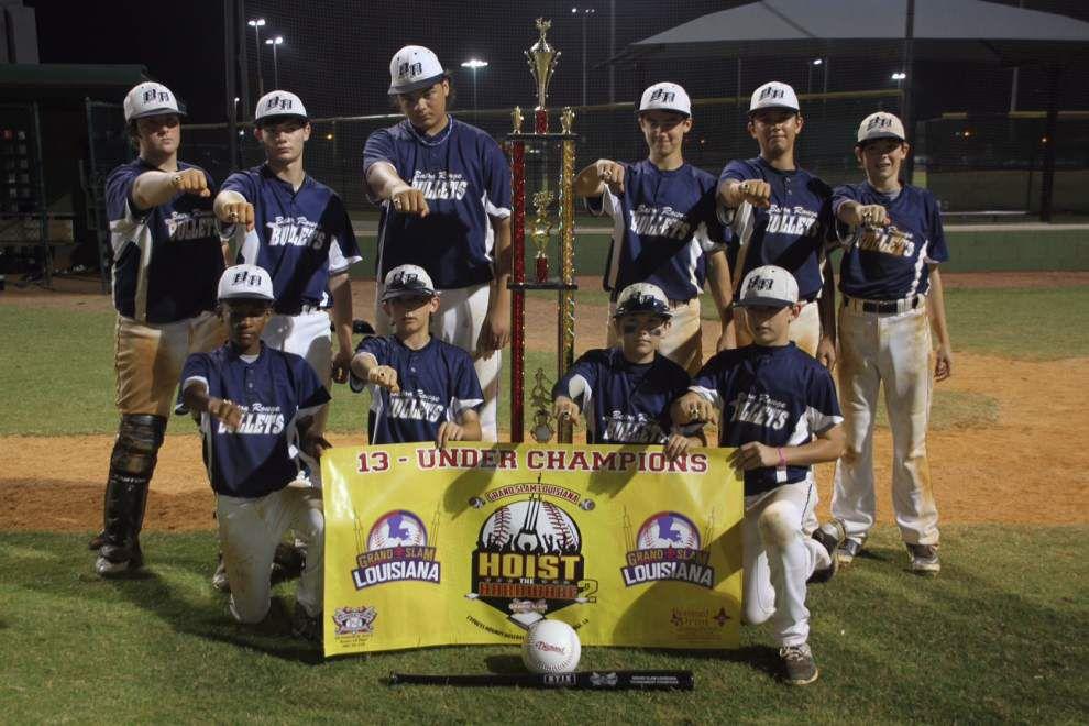 Bullets take baseball tourney championship _lowres