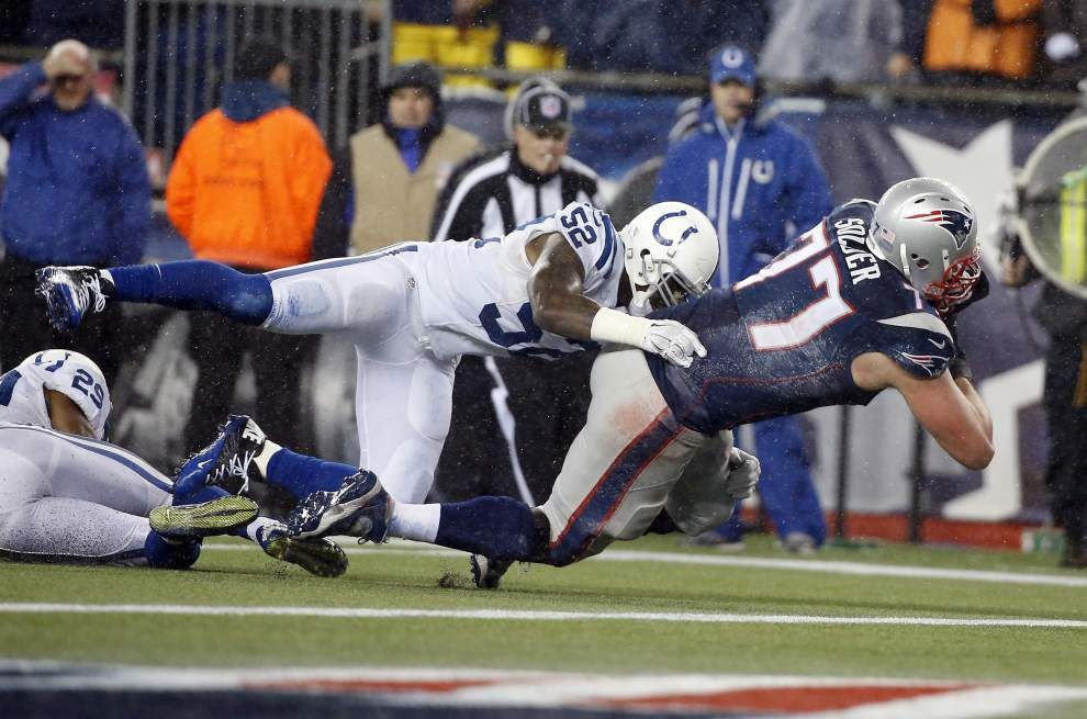 Patriots demolish Colts 45-7 to claim AFC title, Super Bowl spot opposite Seahawks _lowres