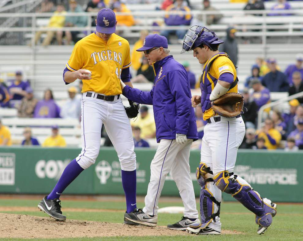 LSU taking 'closer by committee' approach in NCAA postseason _lowres
