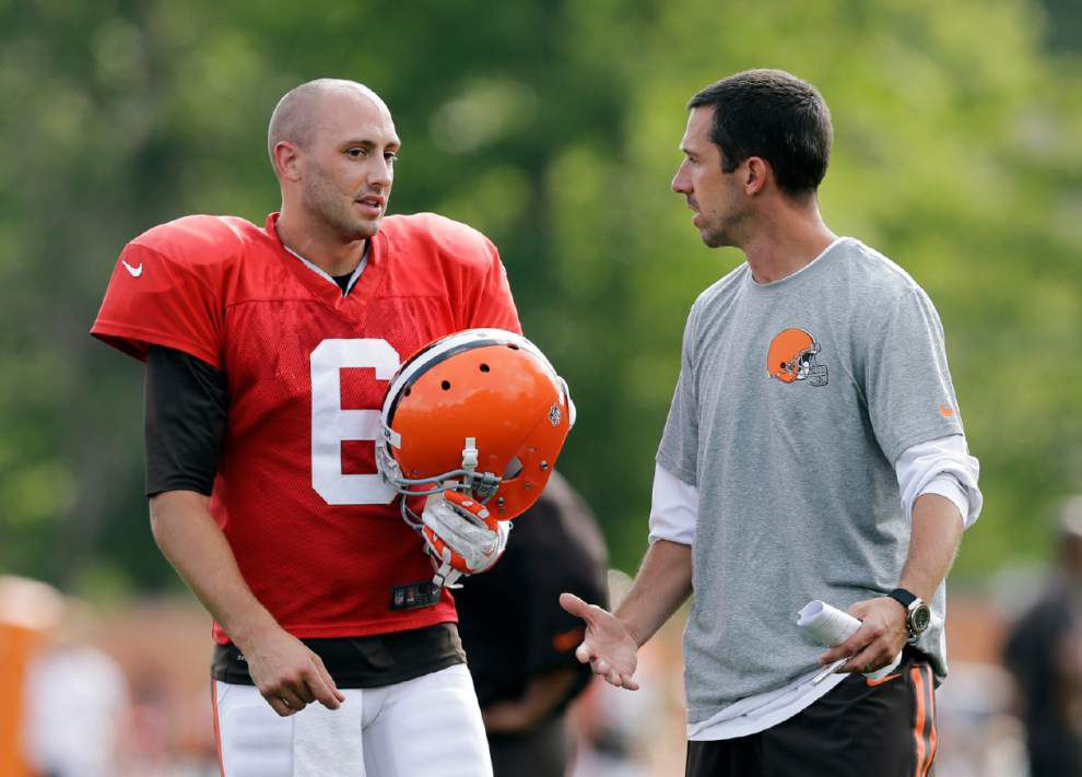 Johnny Manziel, Brian Hoyer, Robert Griffin III take center stage for Browns, Redskins _lowres