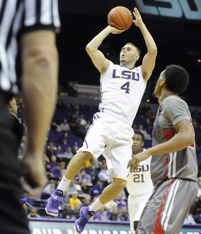 Video: LSU guard Keith Hornsby says the Tigers did not play well defensively in win against Garnder-Webb _lowres