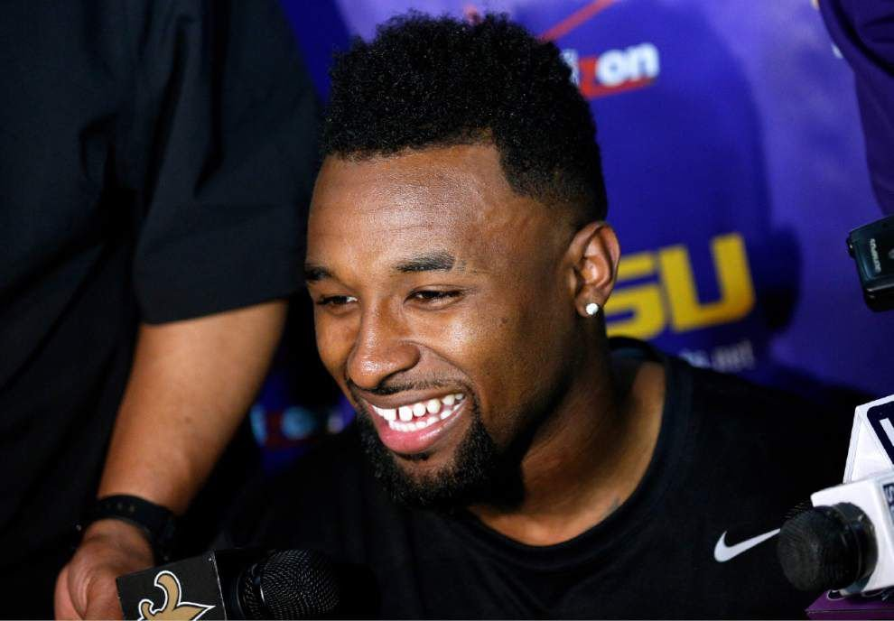 LSU receivers Odell Beckham Jr. and Jarvis Landry expect early draft calls _lowres