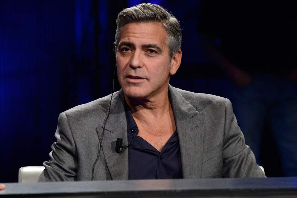 Clooney to helm film about British hacking scandal _lowres