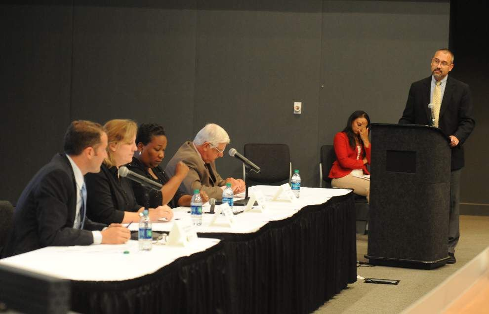 Lafayette School Board candidates lay out their opinions at forum _lowres