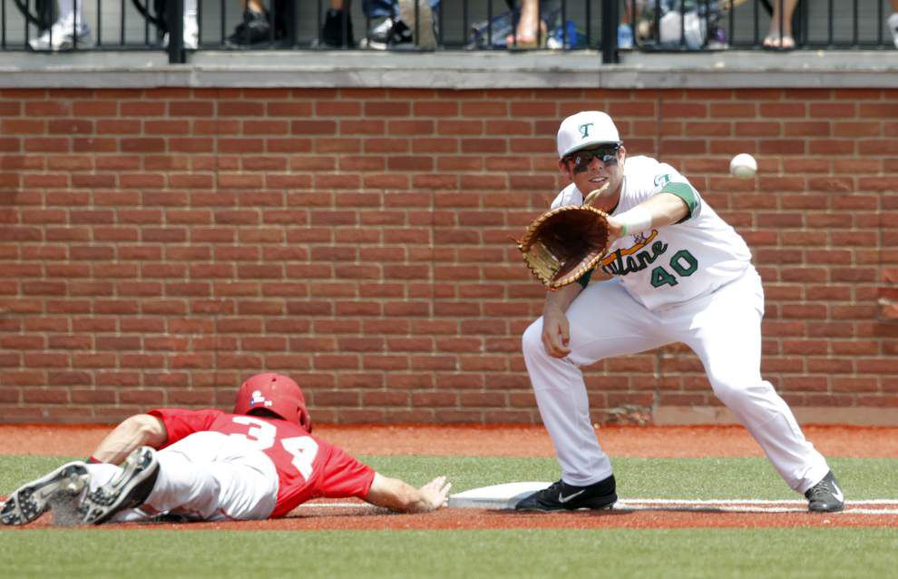 Tulane baseball squad silenced by Houston again in 7-1 loss _lowres