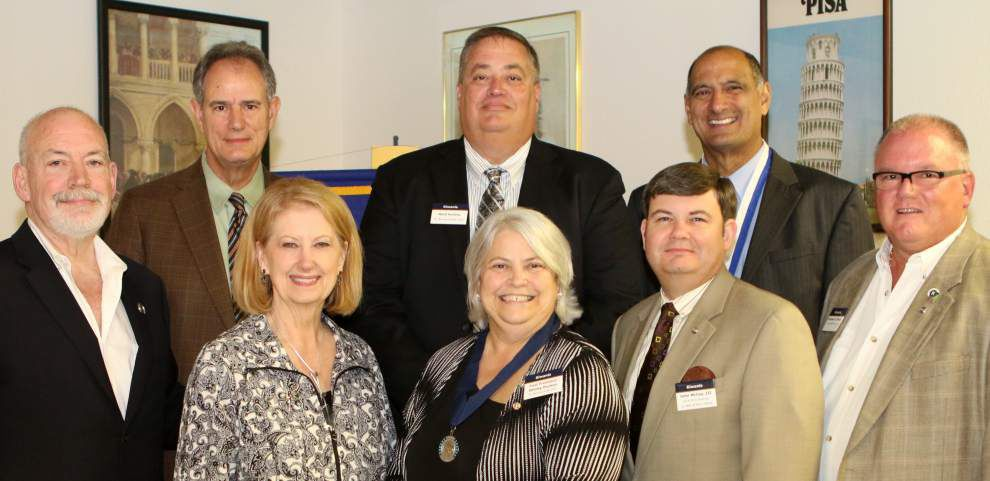 Kiwanis St. Bernard-Arabi Club honors five members _lowres