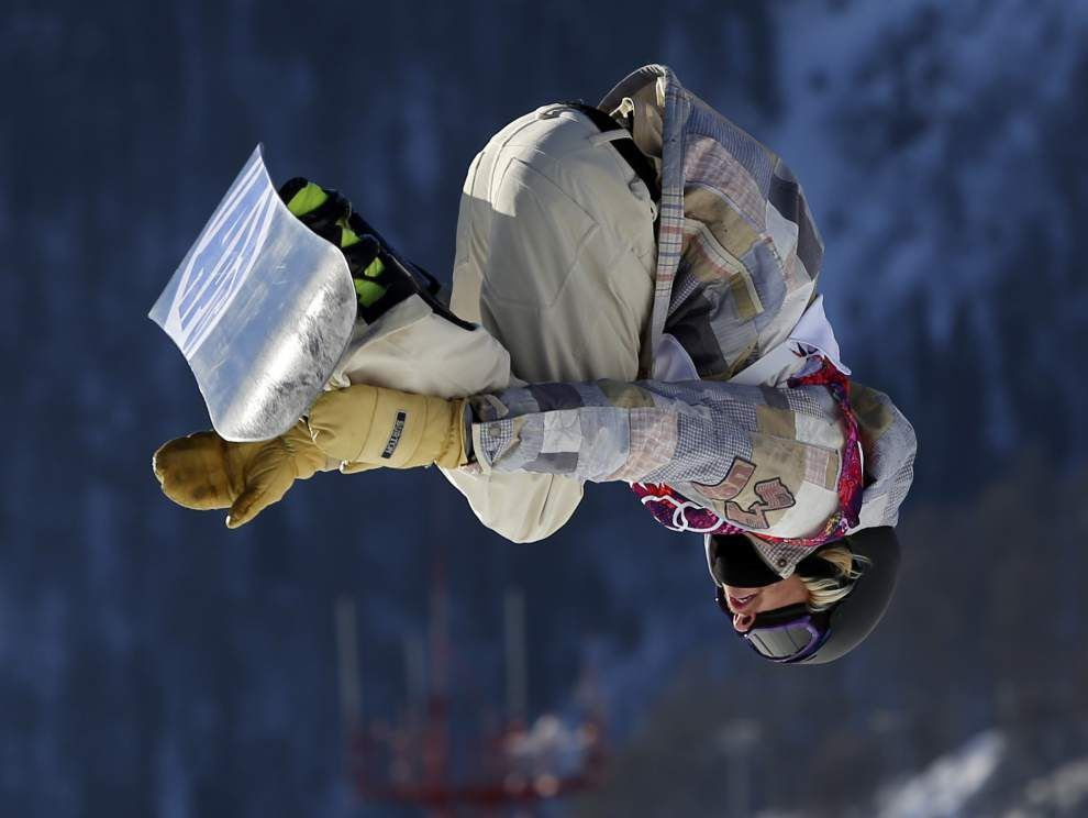 Sage Kotsenburg wins slopestyle to take first gold medal in Sochi _lowres