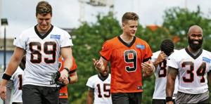 Bengal players say Joe Burrow is already making great calls in practice: 'He knows his stuff'