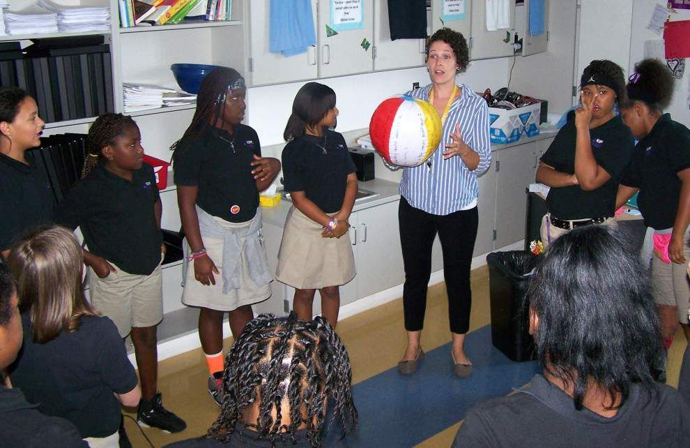 Girl Scouts implement bully-prevention program in Orleans Parish schools _lowres