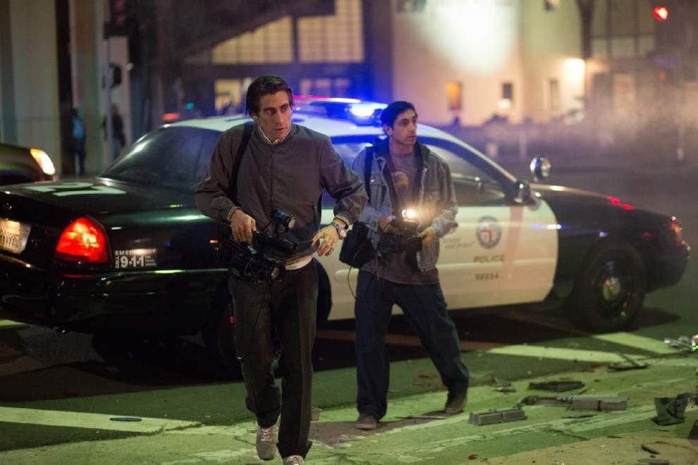 Gyllenhaal, tightly coiled and creepy in 'Nightcrawler' _lowres