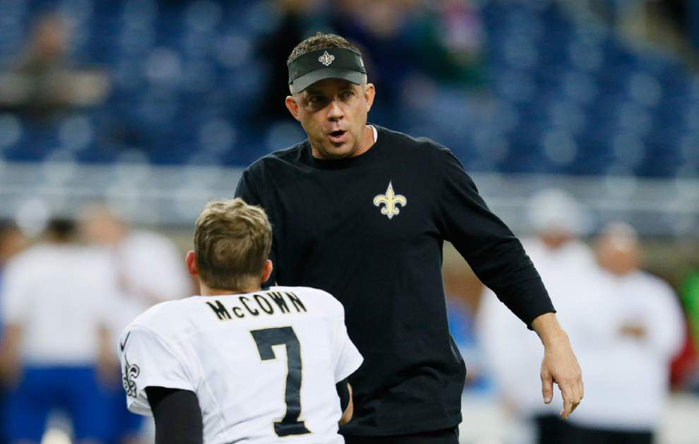 Video: Saints coach Sean Payton says the team had its chances, but couldn't finish the Lions _lowres