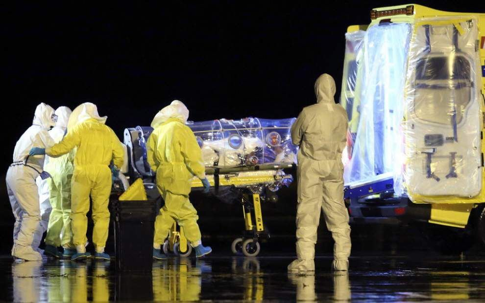 Ebola escapes Europe's defenses; pet dog must die _lowres