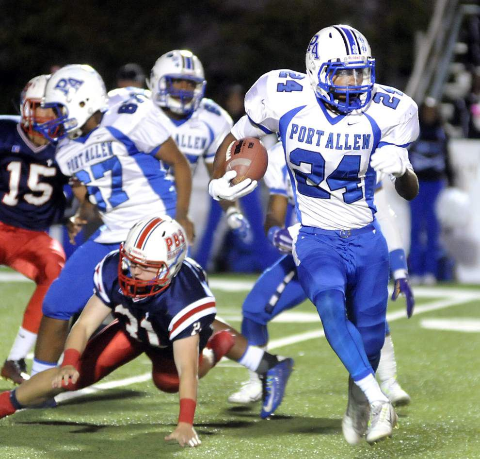 Three interception returns for TDs spark Parkview over Port Allen _lowres