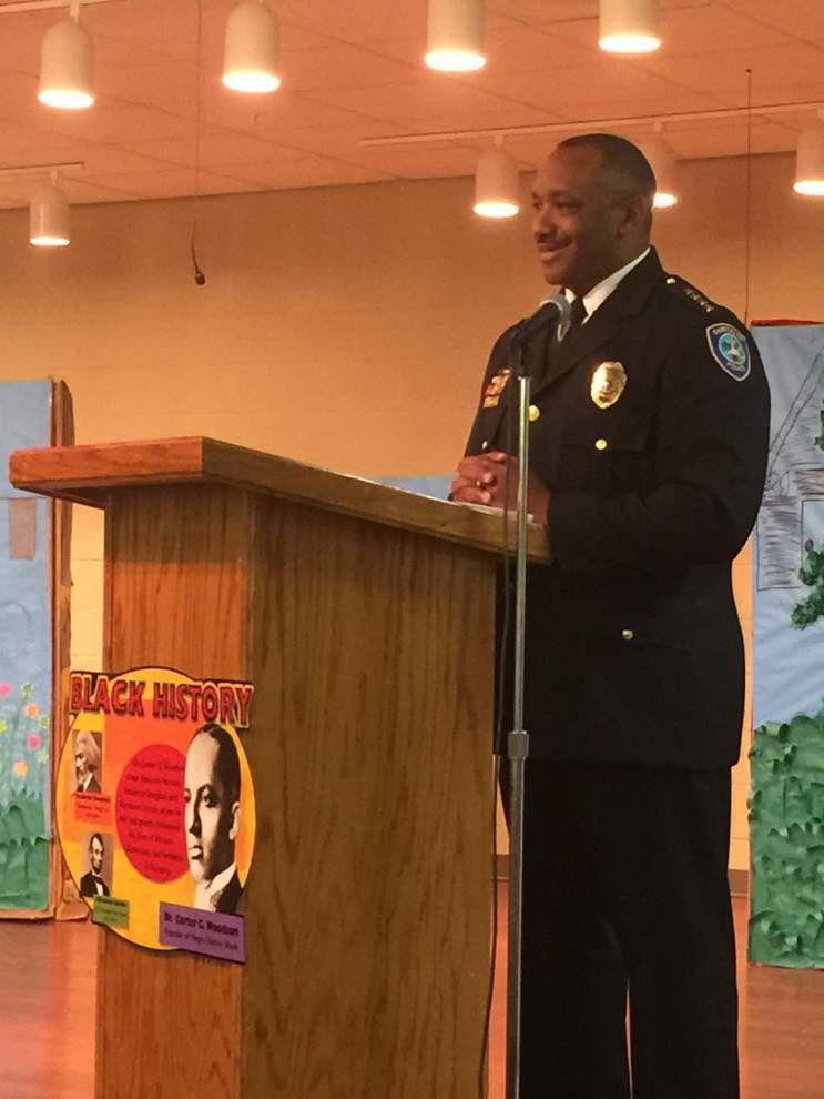 Gonzales police chief honored in Black History Month presentation _lowres