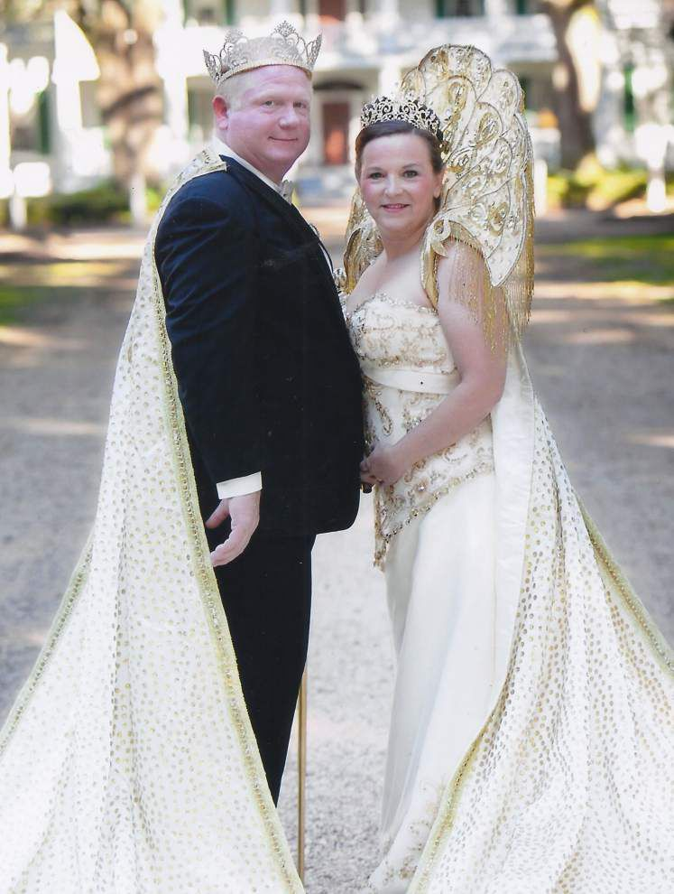 Couple leads Krewe of Denham Springs _lowres