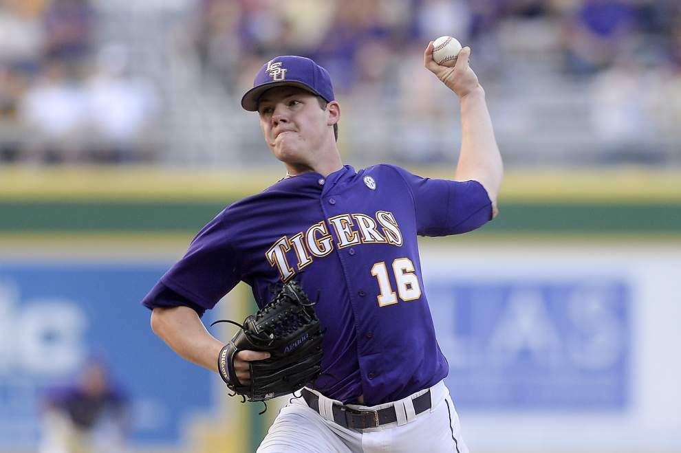 Is it Poché or Nola? Mainieri yet to name first-game starter for LSU _lowres