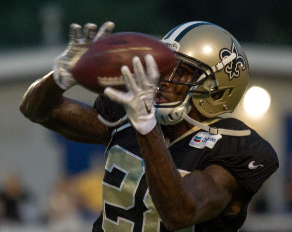 Video: Cornerback Keenan Lewis says it was great to be back with the rest of his Saints' defensive teammates _lowres