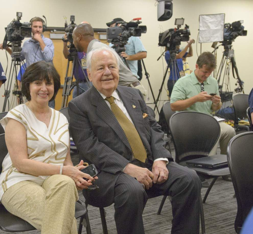 Saints owner Tom Benson feeling 'great' at NFL owners meetings, welcomes chance to prep Gayle Benson for future role _lowres