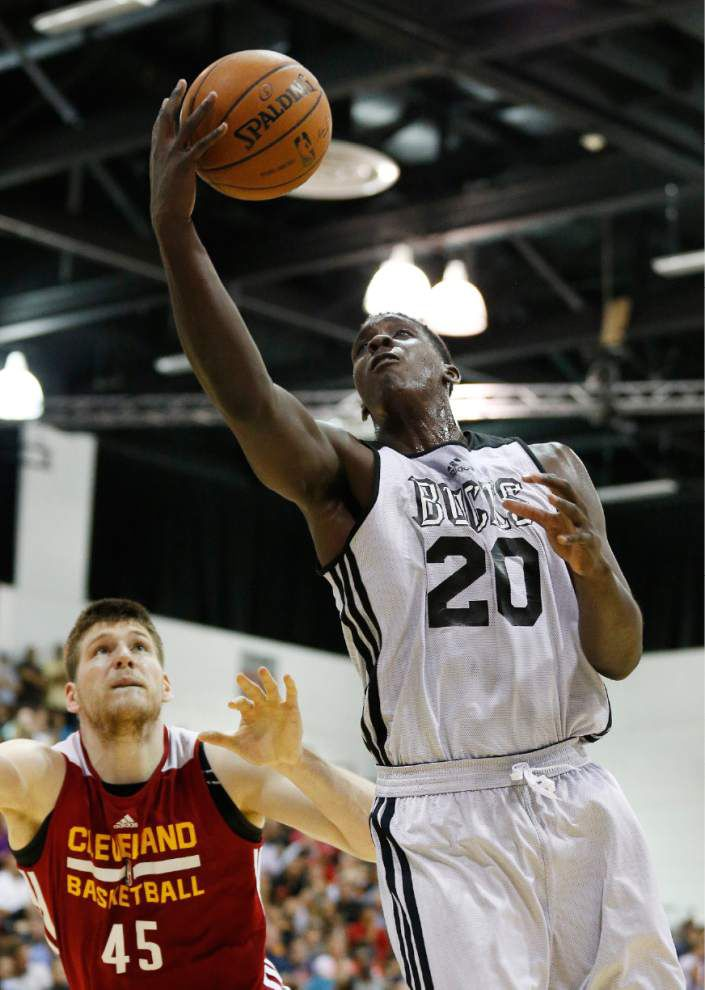 Johnny O'Bryant impressing in summer league _lowres