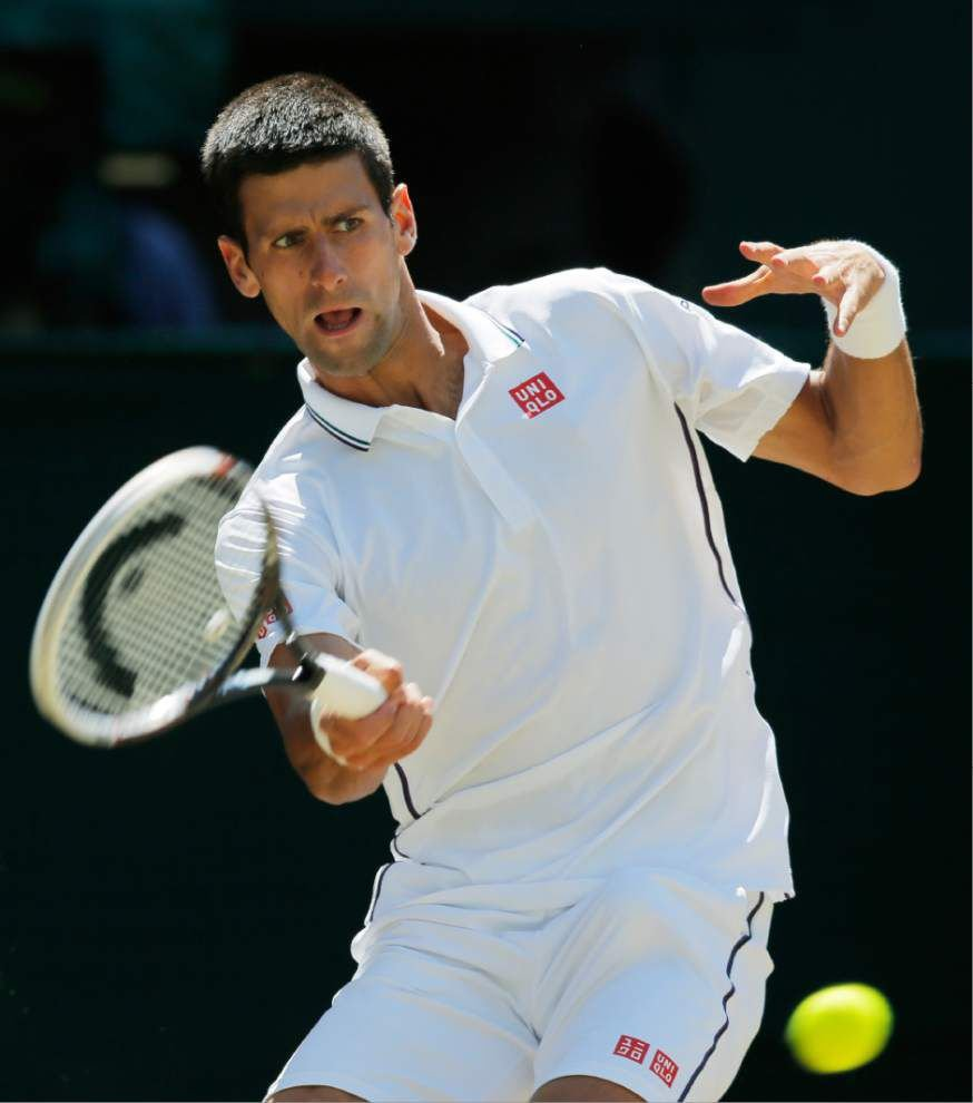 One major matchup as Roger Federer and Novak Djokovic clash for Wimbledon crown _lowres
