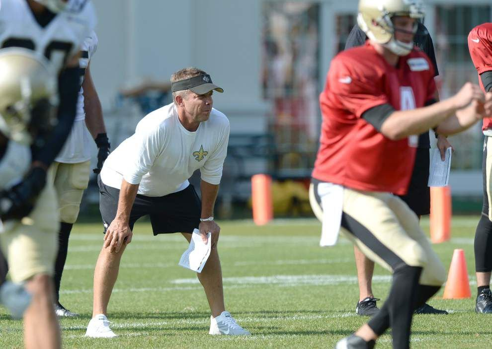 Video: Payton cautious with Brees, downplays Williams reunion _lowres