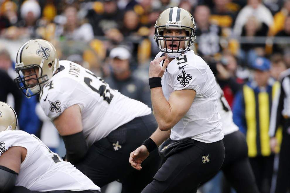 Saints quarterback Drew Brees wins NFC Offensive Player of the Week Award _lowres