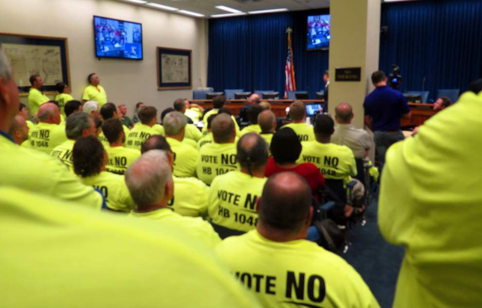 Committee delays vote on plumbing bill _lowres